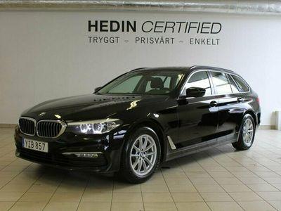 begagnad BMW 520 d Touring Steptronic 190hk, Dragkrok