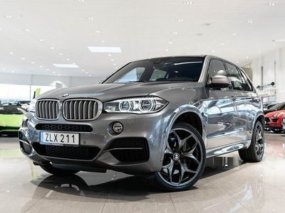 begagnad BMW X5 M50d M Sport 381hk / PANORAMA / HARMAN