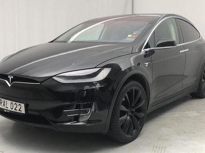 begagnad Tesla Model X P90D