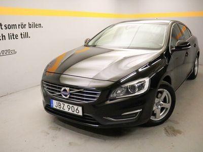 używany Volvo S60 D4 Momentum Business E, Dragkrokjöklass EURO6, VOC m fjärrstart parkvärm, Navigation 2016, Sedan 179 900 kr