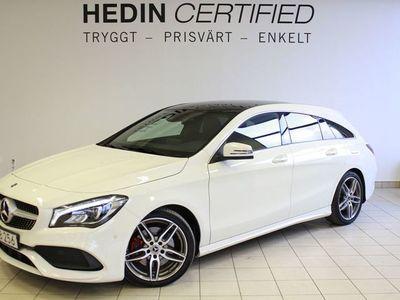 begagnad Mercedes CLA220 - Benzd AMG, Panorama, Drag, Apple Carplay,