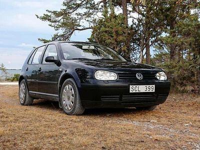 begagnad VW Golf 1.6 Svart