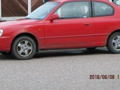 begagnad Hyundai Accent Cupe Bes, skatt -99