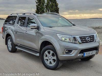 begagnad Nissan Navara 2,3 dCi Tekna Kåpa Webasto Krok