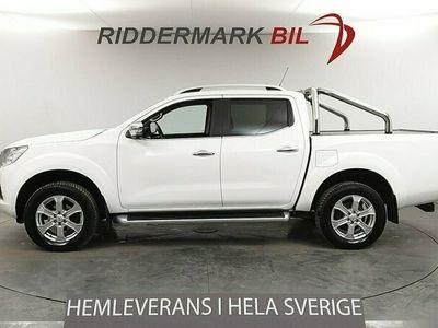 begagnad Nissan Navara Dubbelhytt Tekna 2.3 dCi 4WD Aut 190hk Rolltop Drag Moms