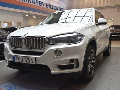 begagnad BMW X5 xDrive 40e / Pano / Navi / H&K / 360Kamera / 1 Ägare