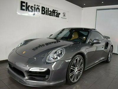 begagnad Porsche 911 Turbo 991 PDK Leasbar Sv-Såld *PDCC,SCP,LED*