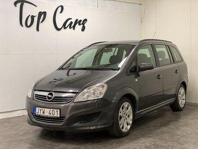 begagnad Opel Zafira 1.6 CNG ecoFLEX Turbo 7-sits 150h