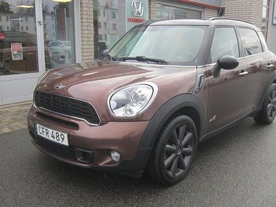 begagnad Mini Cooper SD Countryman ALL4 Automat Chili 143hk