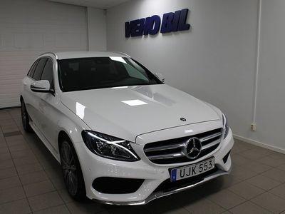brugt Mercedes C220 d Kombi AMG Drag Navi -18