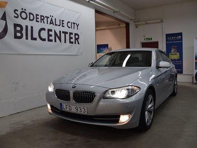 begagnad BMW 520 D Sedan Steptronic 184HK/SVENSKSÅLD -11