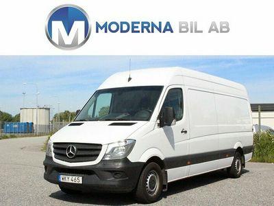 begagnad Mercedes Sprinter 316 L3H2 MOMS/DRAG/D-VÄRM/BT/163hk