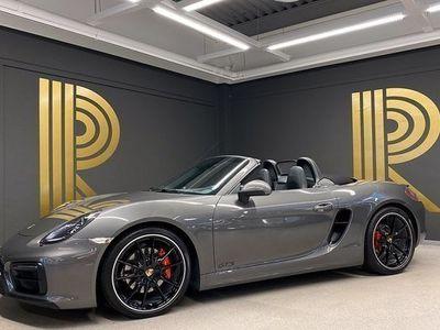 begagnad Porsche Boxster GTS Sv-såld Sportavgas 2015, Cab 719 000 kr