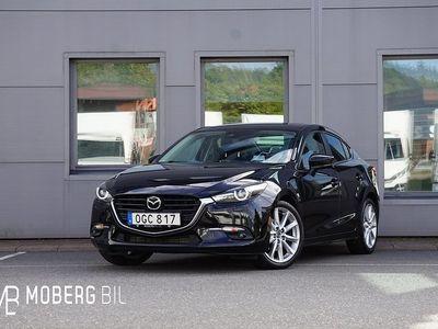 begagnad Mazda 3 2.2 DE 150hk Optimum Navi HUD BOSE