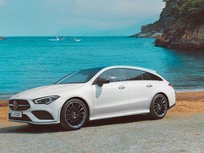 begagnad Mercedes CLA180 Shooting Brake PrivatLeasing Lagerbilskampanj