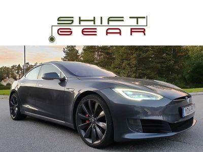 begagnad Tesla Model S P90D AP Panorama 1 äg LEASEBAR -16