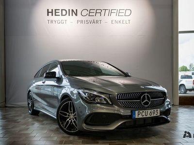 gebraucht Mercedes CLA200 d SB 4MATIC // AMG & Bränslevärmare //