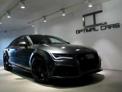 begagnad Audi RS7 4.0TFSi CARBON Daytona Matte-Grey