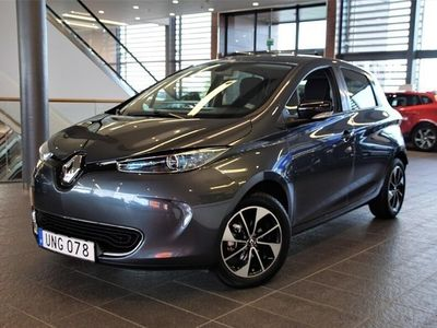 begagnad Renault Zoe 109 hk 41 kWh Intens batterihyra -19