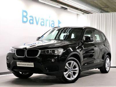 begagnad BMW X3 xDrive20d xDrive 20d Sport Line HiFi Ljud Drag