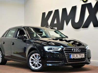 begagnad Audi A3 1.4 TFSI G-Tron Styled Panorama (110hk)