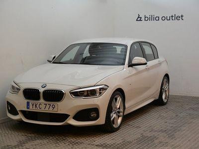 begagnad BMW 118 d M Sport Hi-Fi Drag B-kamera 2017, Halvkombi Pris 179 900 kr