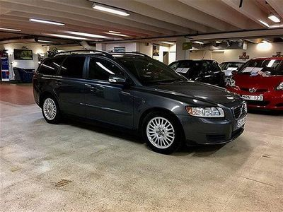 begagnad Volvo V50 1,6D/MOMENTUM/ACC/DRAG/R-fritt -10