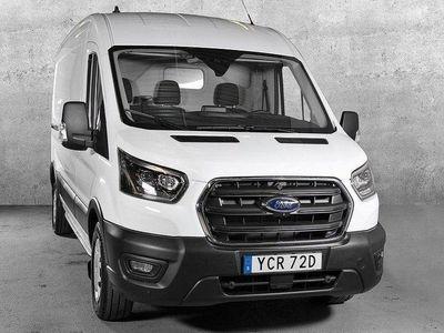 begagnad Ford Transit Van AWD L3 VIT 170HK DUBBLA SKJU