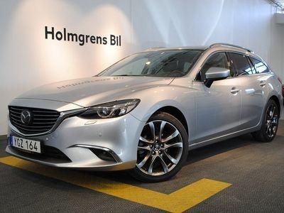 begagnad Mazda 6 OPTIMUM 2.2 DE AWD AUTOMAT 2016, Kombi 284 900 kr