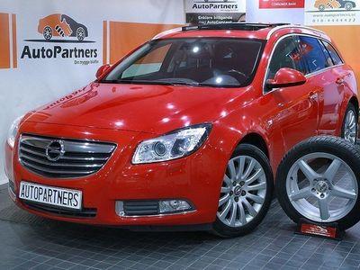 brugt Opel Insignia 2.0CDTI 4x4 160hk PANORAMA GPS LÄDER