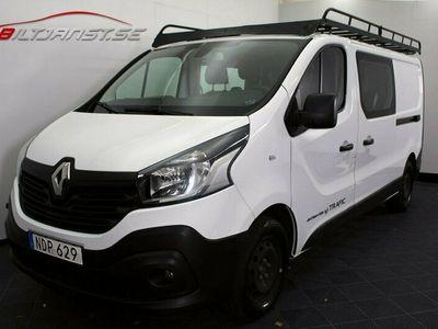 begagnad Renault Trafic Skåpbil 1.6 dCi L2H1 Dubbelhytt Inredning D-Värm Kamera
