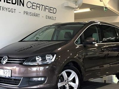begagnad VW Sharan 2.0 BlueTDI Aut Premium Nav Drag 6-Sits