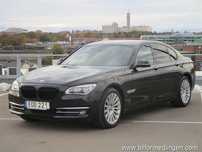 begagnad BMW 740 d xDrive Sedan, F01 313hk Comfort, Navigation, Connected Dri
