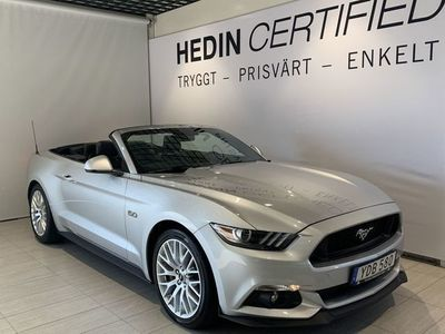 begagnad Ford Mustang GT Convertible 5.0 V8 //Navigation//GPS//Backkamera//