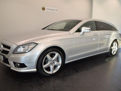 used Mercedes CLS350 CDI 4Mat AMG SB (265hk)