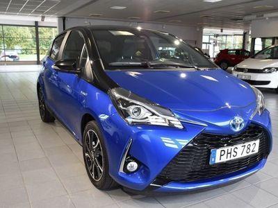 begagnad Toyota Yaris Hybrid -17