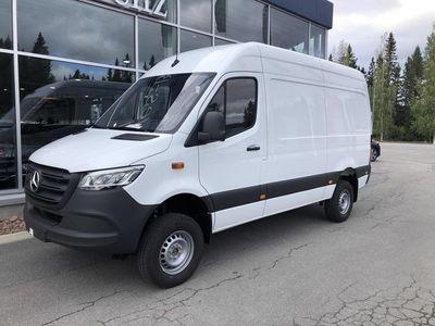 begagnad Mercedes Sprinter 319 CDI 4x4 Skåpbil Panel Van