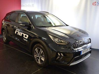begagnad Kia Niro Hybrid 1.6 GDi DCT Euro 6 141hk Plusp2 DEMOBIL
