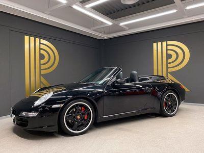 begagnad Porsche 911 Carrera Cabriolet 911 997 S Kolfiber Navi 2007, Cab 499 000 kr