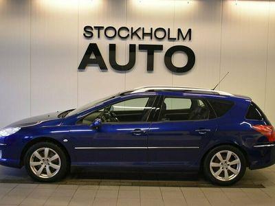 begagnad Peugeot 407 SW 2.2 HDi Drag V-hjul Panorama 2008, Kombi Pris 24 900 kr