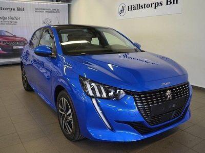 begagnad Peugeot 208 1.2 ALLURE 100HK AUTO GLASTAK