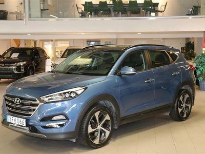 begagnad Hyundai Tucson 1.6 T-GDI Premium 4WD 177 Hk Aut