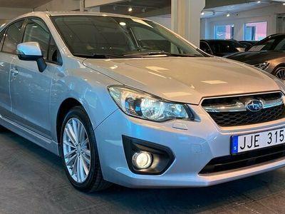begagnad Subaru Impreza 1.6 4WD Aut B-kamera 2014, Personbil Pris 139 900 kr