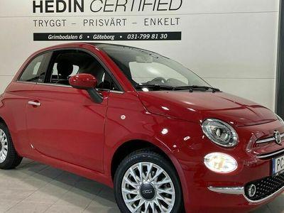 begagnad Fiat 500C LOUNGE 1.2 69hk CAB