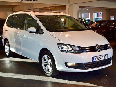 begagnad VW Sharan 2.0 TDI Aut Premium 7-sits Drag
