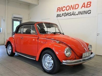 gebraucht VW Käfer ORIG BUBBLA CAB NYBES 1-ÄGARE