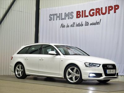 begagnad Audi A4 AVANT 2.0 TDI AUT NAVI QUATTRO S-LINE