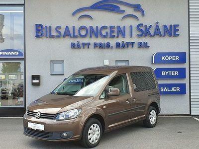 begagnad VW Caddy Maxi Life Caddy Life 1.6 TDI DSG 5-Sitsig 2012, Personbil 119 000 kr