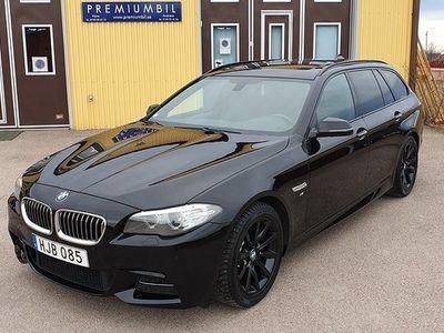 begagnad BMW 520 d xDrive Touring M-Sport Black Pearl