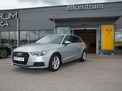 used Audi A3 Sportback 1,6 TDI 110hk, Apple Carplay